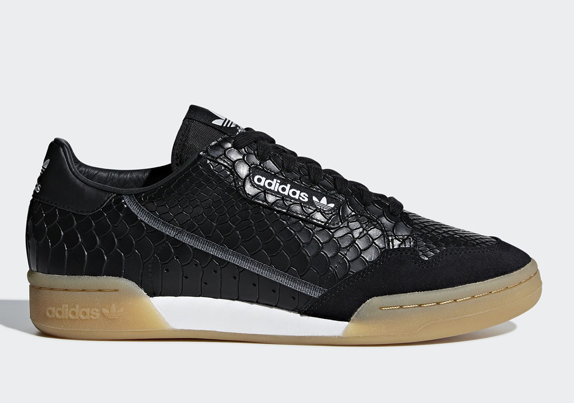 finest selection bfc6d e39d1 adidas Is Adding Python Skin To The Continental 80