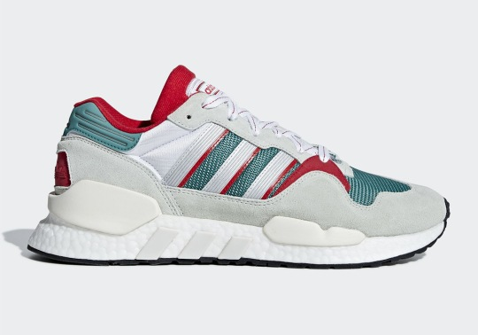 adidas Continues To Blend Old With New With The EQT ZX
