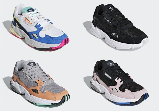 The adidas Falcon Is Dropping In A Four More Colorways This Fall