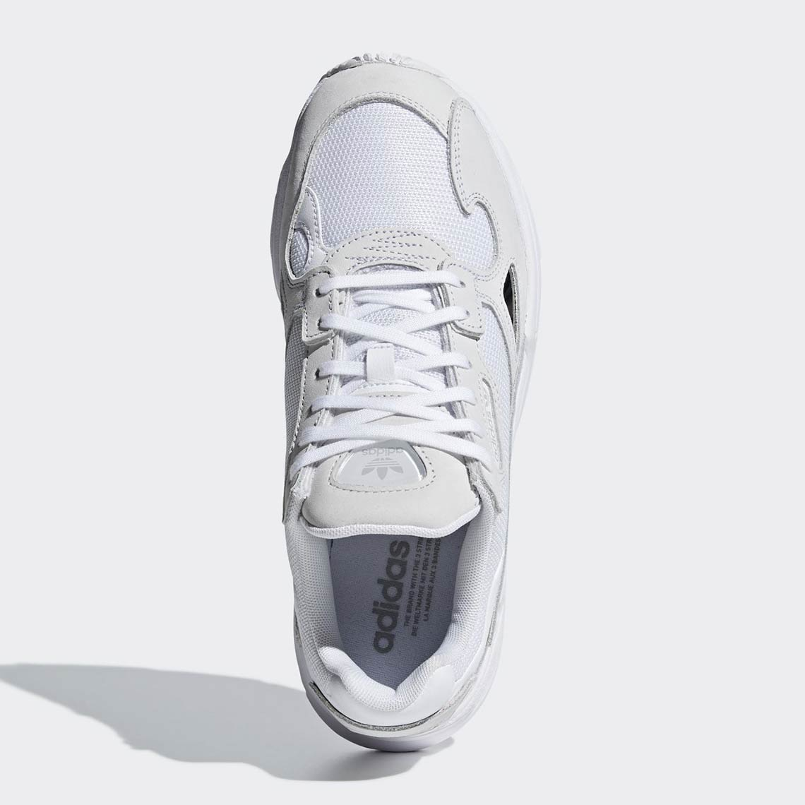 new concept 5e56f f967d adidas Falcon Triple White B28128 Release Info   SneakerNews.com