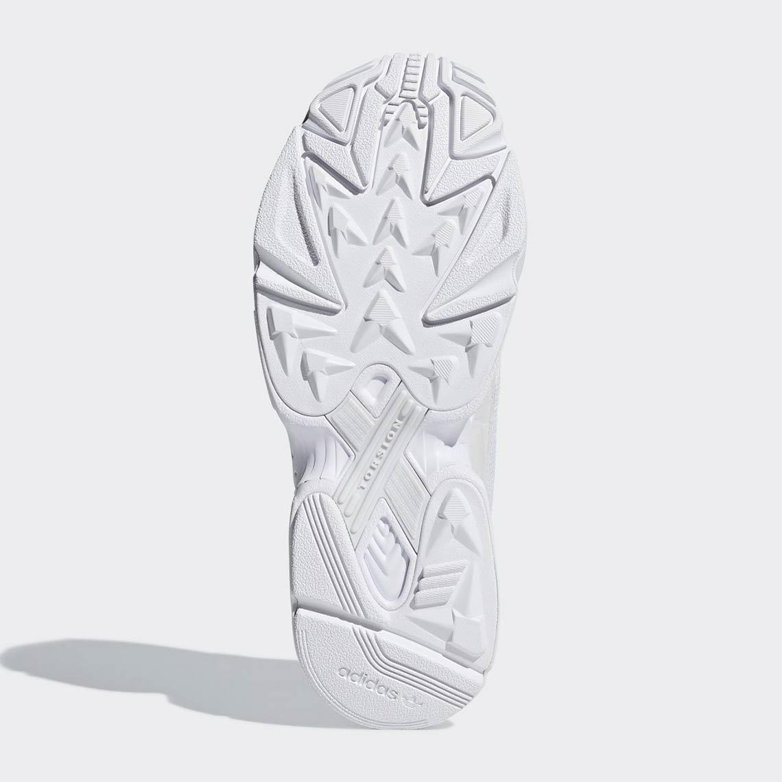 adidas Falcon Triple White B28128 Release Info |