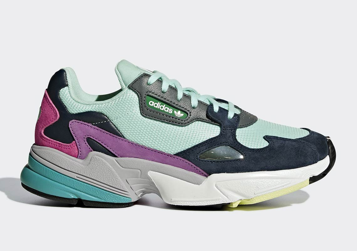 quality design 4ca4a cf873 The Most Colorful adidas Falcon Yet Appears