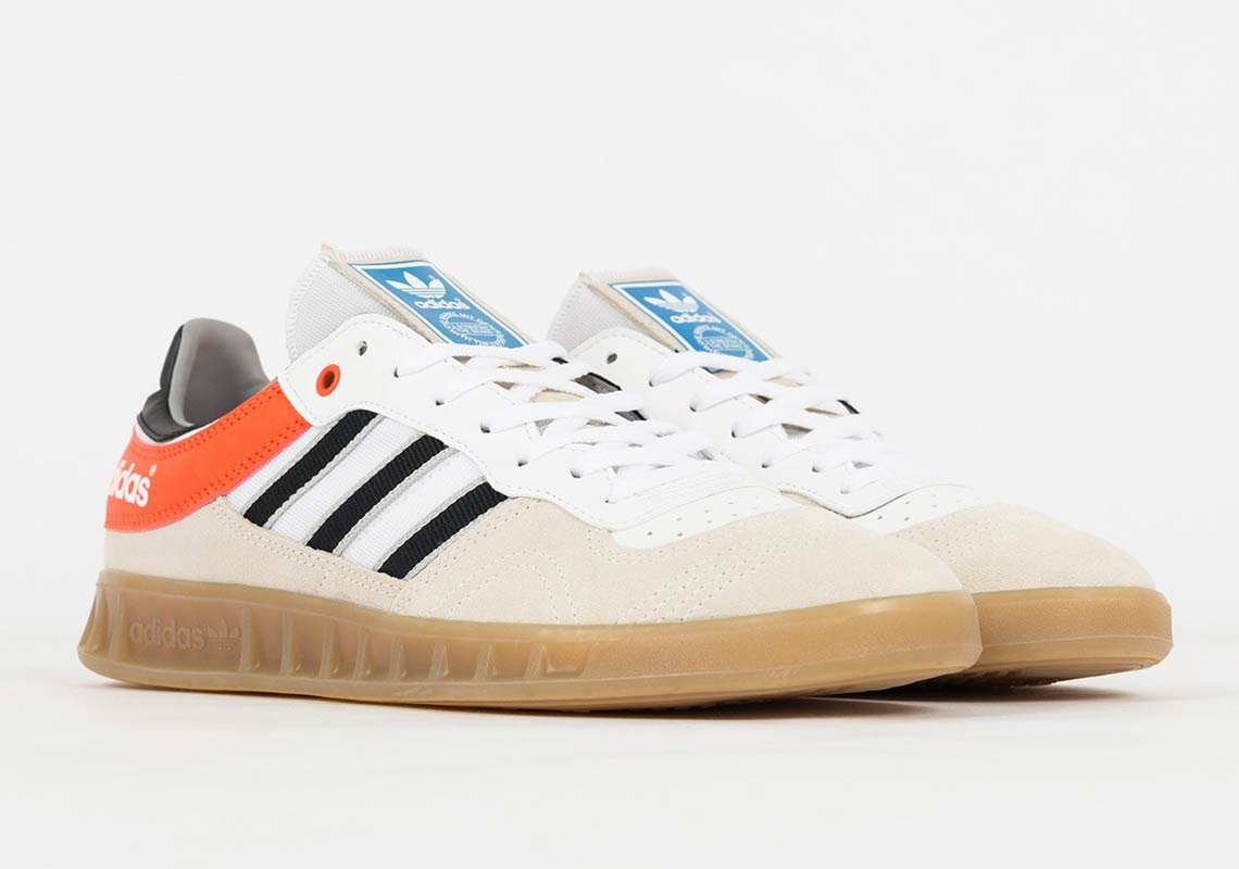 sale retailer dda8f 70186 ... these retro trainers to your rotation, they re available now at EU  retailers like Suppa for €99.90—around  115 USD. Advertisement. adidas  Handball Top