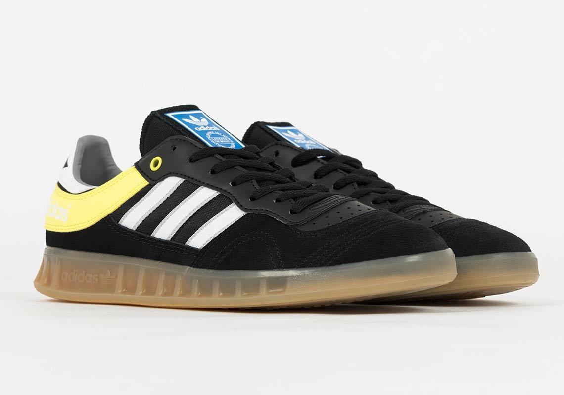 455b908c61f45e adidas Handball Top €99.90. Color  Core Black Footwear White Yellow Style  Code  B38029