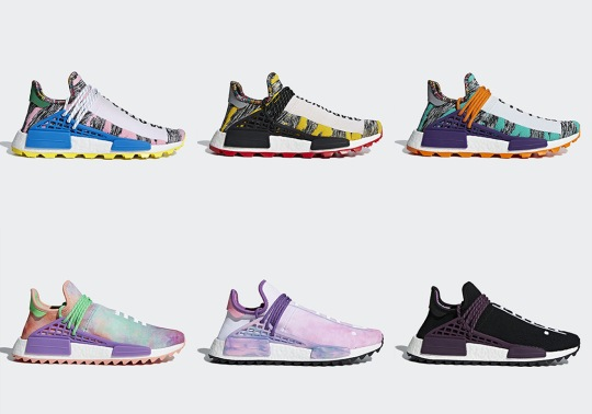 Two Pharrell x adidas NMD Hu Collections Are Restocking This Weekend