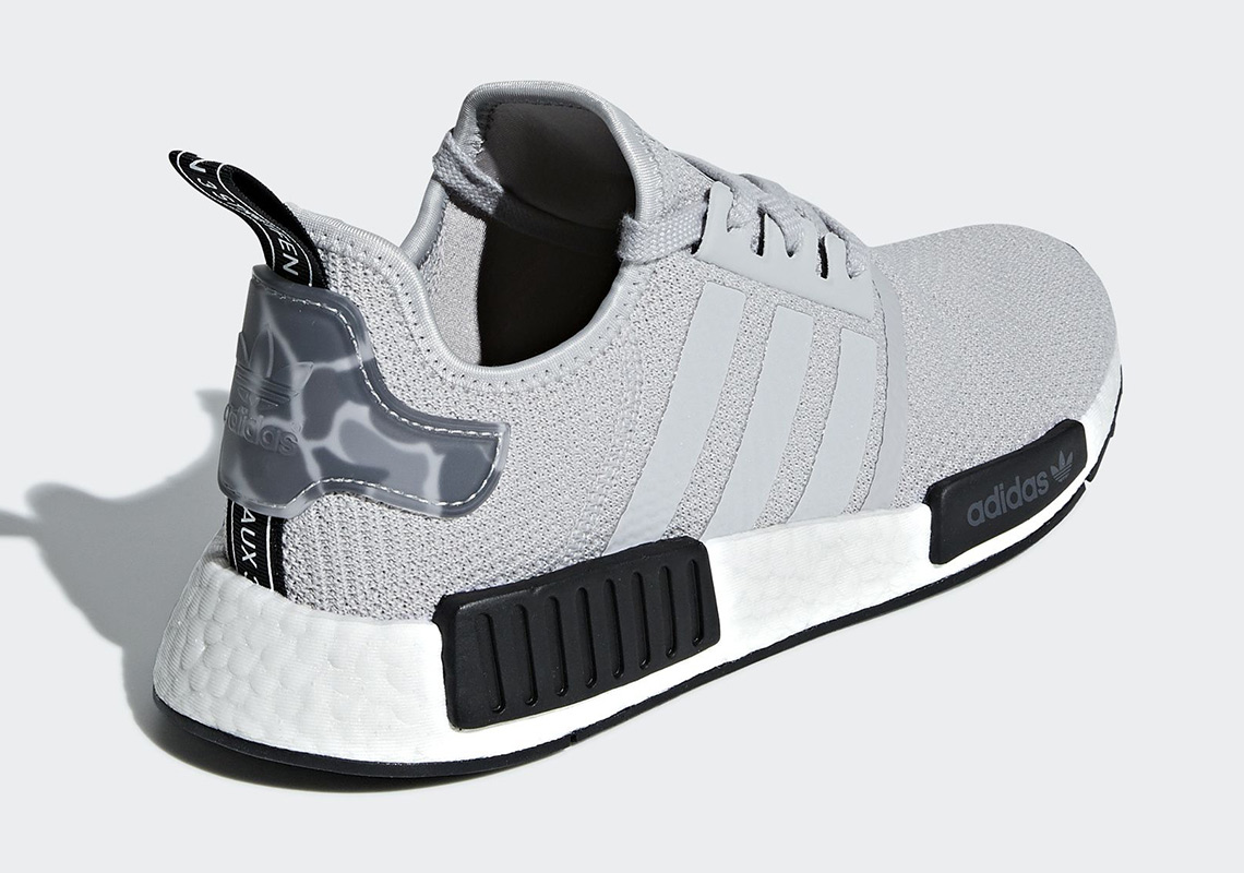 The Adidas Nmd R1 Arrives In Camo Heels Sneakernews Com
