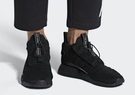 "First Look At The adidas NMD TS1 Gore Tex ""Triple Black"""