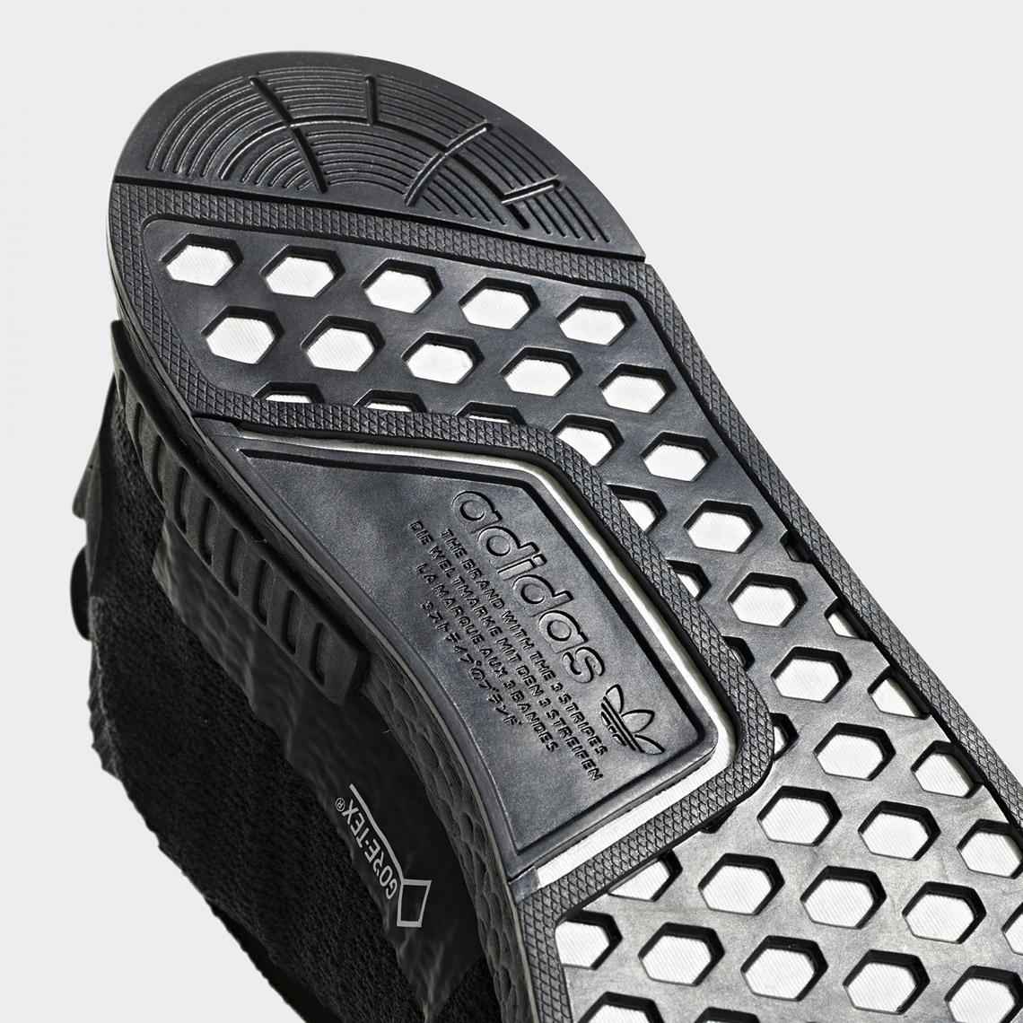 ffcc5d5d8ed adidas NMD TS1 Gore Tex Triple Black Photos | SneakerNews.com