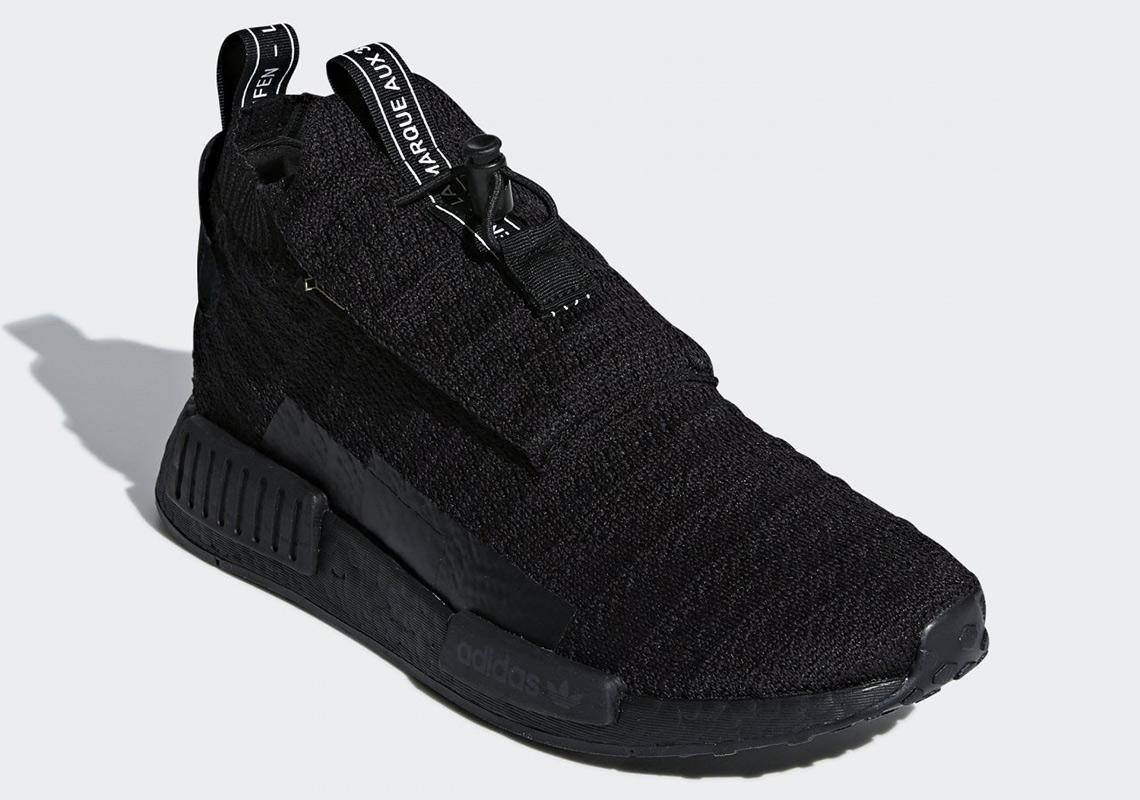 431131ba69265 adidas NMD TS1 Gore Tex Color  Core Black Core Black Core Black