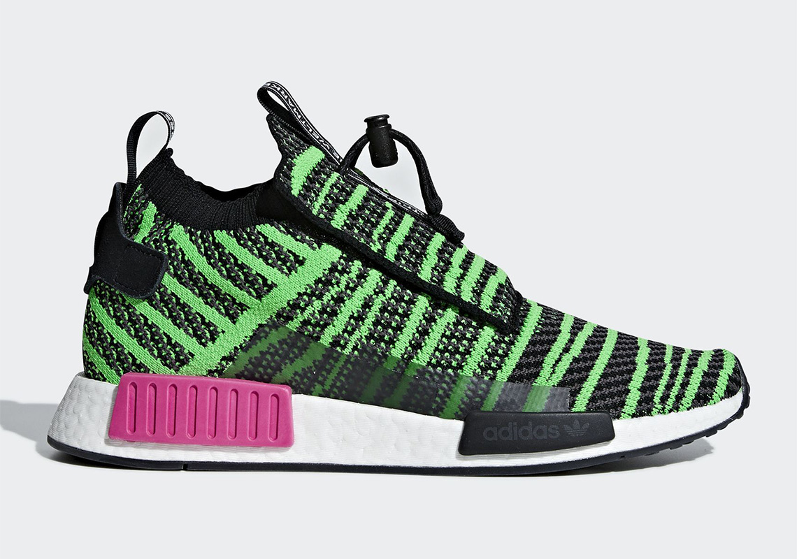 fdc37f16098 adidas NMD TS1 Watermelon B37628 Release Info