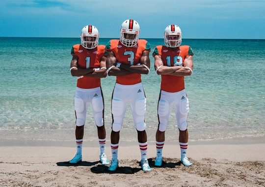 adidas, Parley, And University Of Miami Unveil Cleats Made Of Ocean Plastics