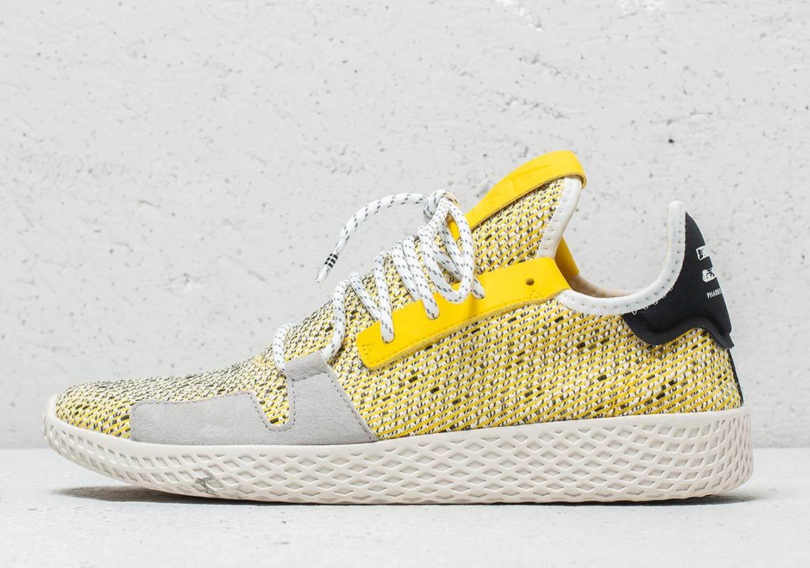 sale retailer 14436 bde86 Pharrell x adidas Tennis Hu V2 Release Date August 18th, 2018 130. Color  BlackCloud White-Core Black Style Code BB9543