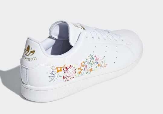 adidas Drops Two Floral-Printed Stan Smiths