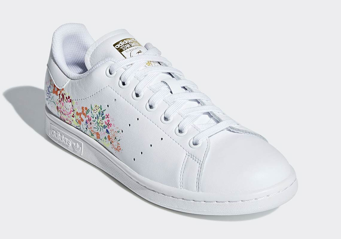 Adidas Stan Smith Floral Colorful Graffiti Sneaker