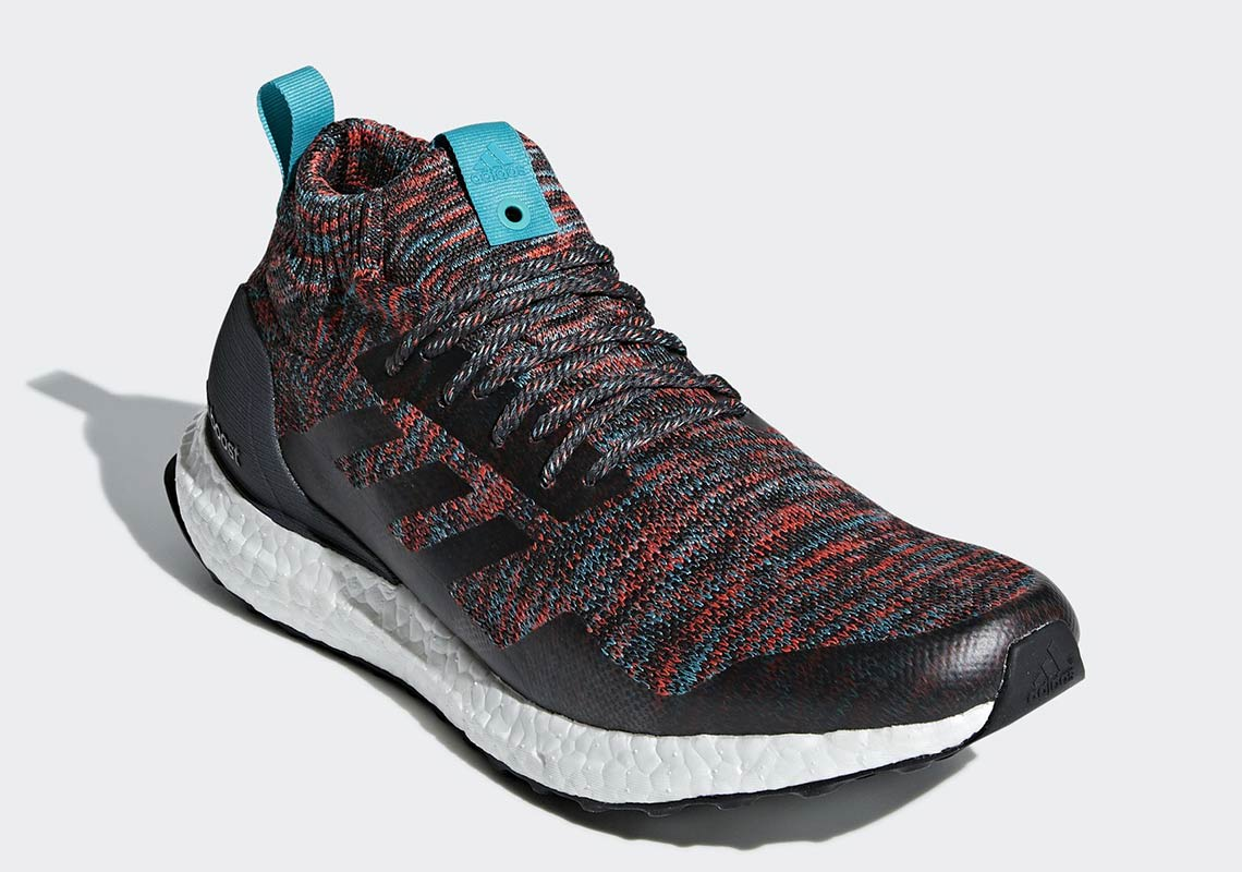 Fahrenheit Espectacular Anormal  adidas Ultra Boost Mid Burgundy + Turquoise G26843 | SneakerNews.com