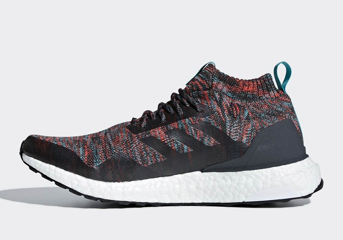 new style 07654 1586e adidas Ultra Boost Mid Burgundy + Turquoise G26843   SneakerNews.com