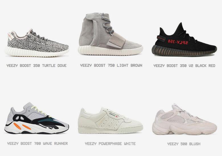 adidas shoes name list