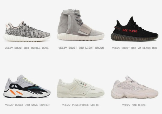 A Complete adidas Yeezy Shoe Archive Appears On Yeezy Supply
