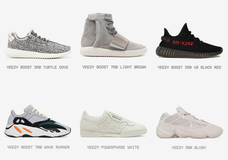 classic fit fbfbd 3bc00 Every adidas Yeezy Shoe - Full Archive | SneakerNews.com