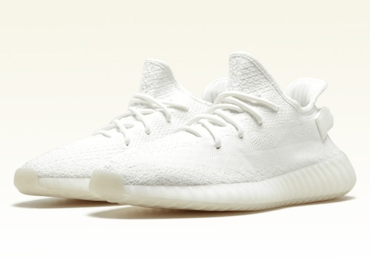 "The adidas Yeezy Boost 350 v2 ""Triple White"" Is Restocking On September 21st"