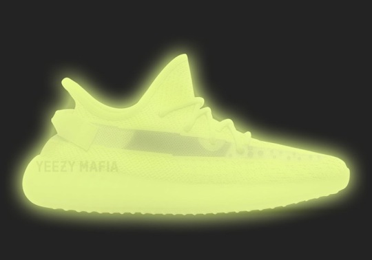Kanye West Confirms Glow In The Dark adidas Yeezy Boost 350 v2