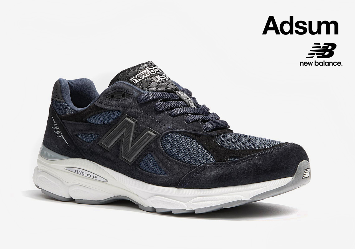 metano Misión Planeta  Adsum To Launch Exclusive New Balance 990v3 Collaboration And NYC Pop-Up -  SneakerNews.com