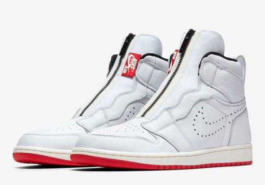 The Air Jordan 1 High Zip Releases In Men's Sizes August 9th