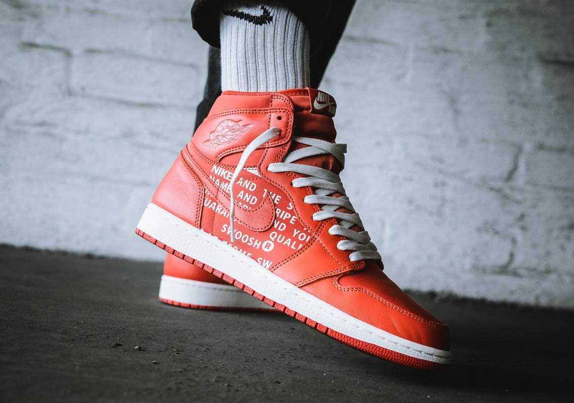 "98eff700a25a72 An On-Foot Look At The Air Jordan 1 Retro High OG ""Vintage Coral"""