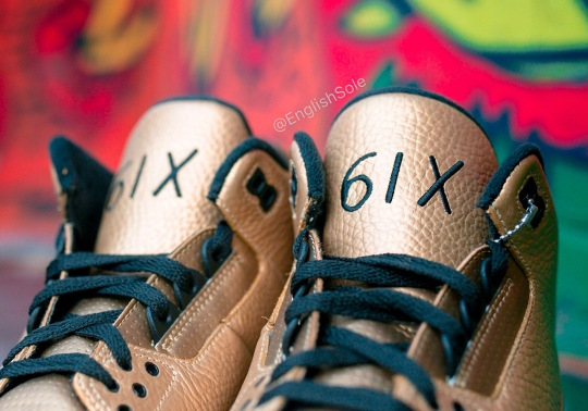 "Up Close With Drake's Unreleased OVO x Air Jordan 3 ""6IX"""