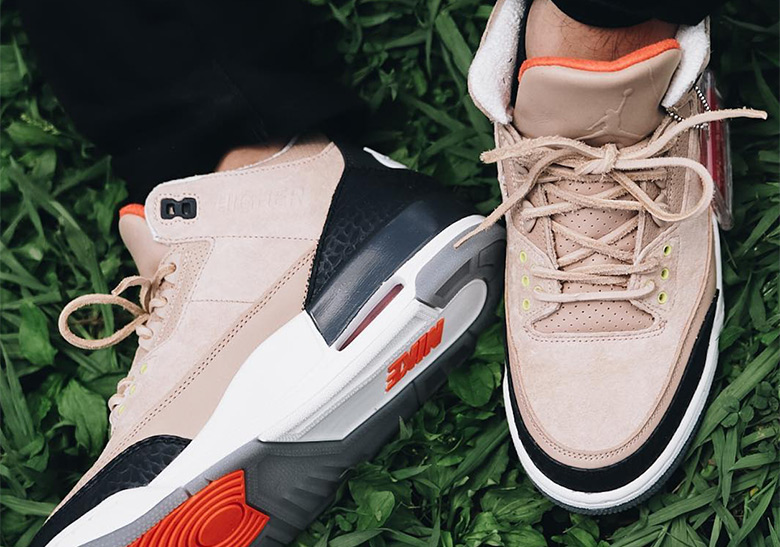 "a2da79350cea Where To Buy The Air Jordan 3 JTH ""Bio Beige"""