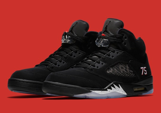 "Official Images Of The Air Jordan 5 ""PSG"""