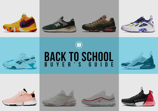 Back To School Sneaker Shopping Guide