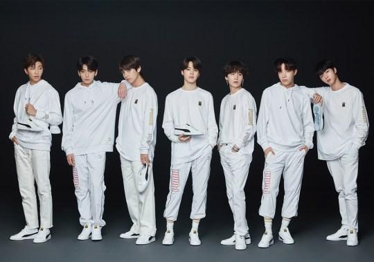 K-Pop Band BTS Releases A Puma Collaboration