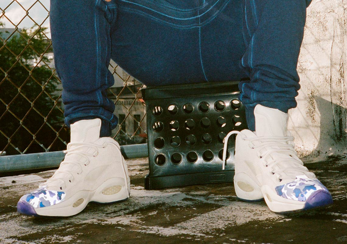 3616b4c9ce5 Cam Ron And Reebok s Third Collaboration To Feature The Question Mid