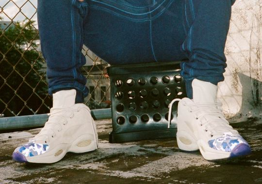 Cam'Ron And Reebok's Third Collaboration To Feature The Question Mid