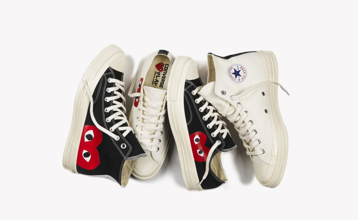 e737d64fdcc411 The Comme des GARÇONS PLAY x Converse Chuck 70 Is Available