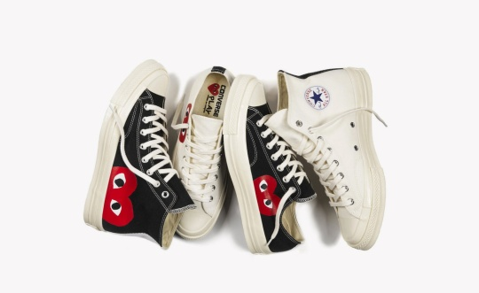 The Comme des GARÇONS PLAY x Converse Chuck 70 Is Available