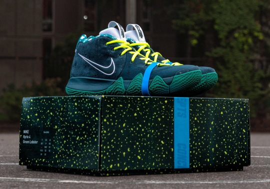 "How To Get The Concepts x Nike Kyrie 4 ""Green Lobster"""