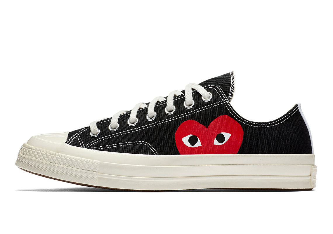 42b559cc04ad9 Comme Des Garcons Chuck 70 Collection Available Now | SneakerNews.com