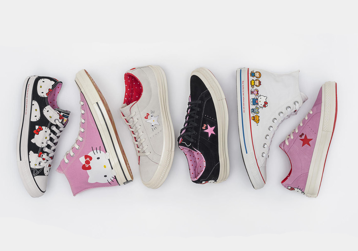 6f4031f2b7 Hello Kitty And Converse Reveal Full Footwear Collaboration