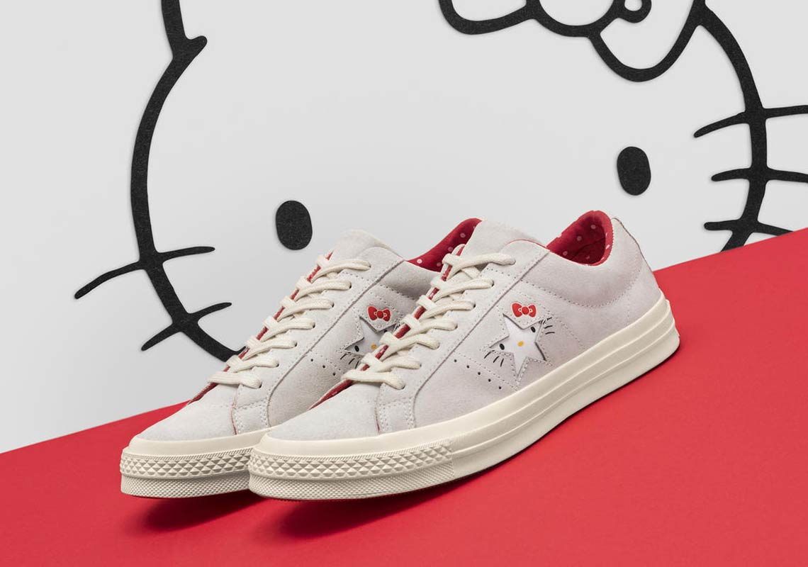 7284135eb5 Hello Kitty + Converse Collection Release Info