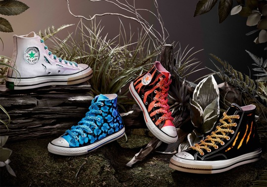 Dr. Woo And Converse Create Chuck Taylors With Wear-Away Details