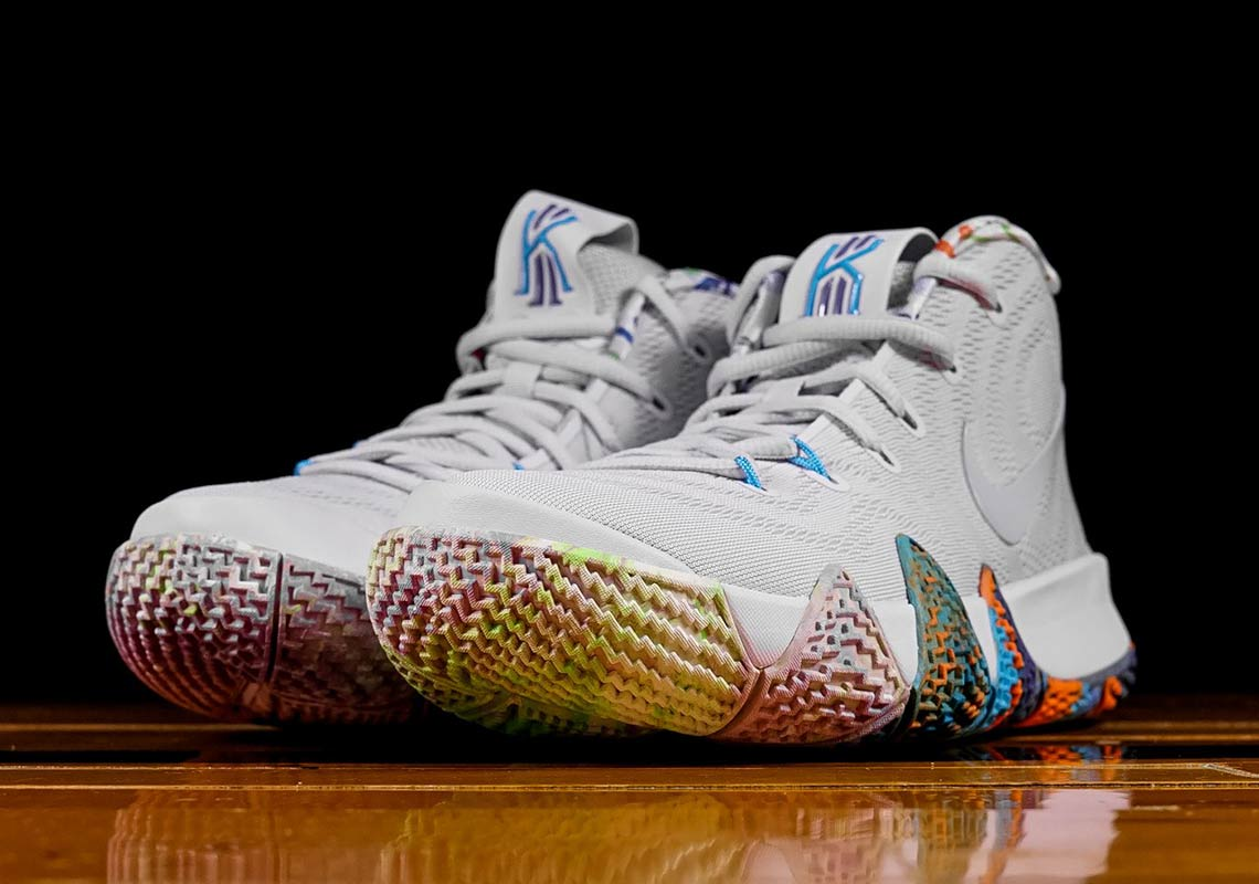 new arrival 3a17c 5053c Nike Kyrie 4 Decades Pack 90s 943806-902 Release Info ...