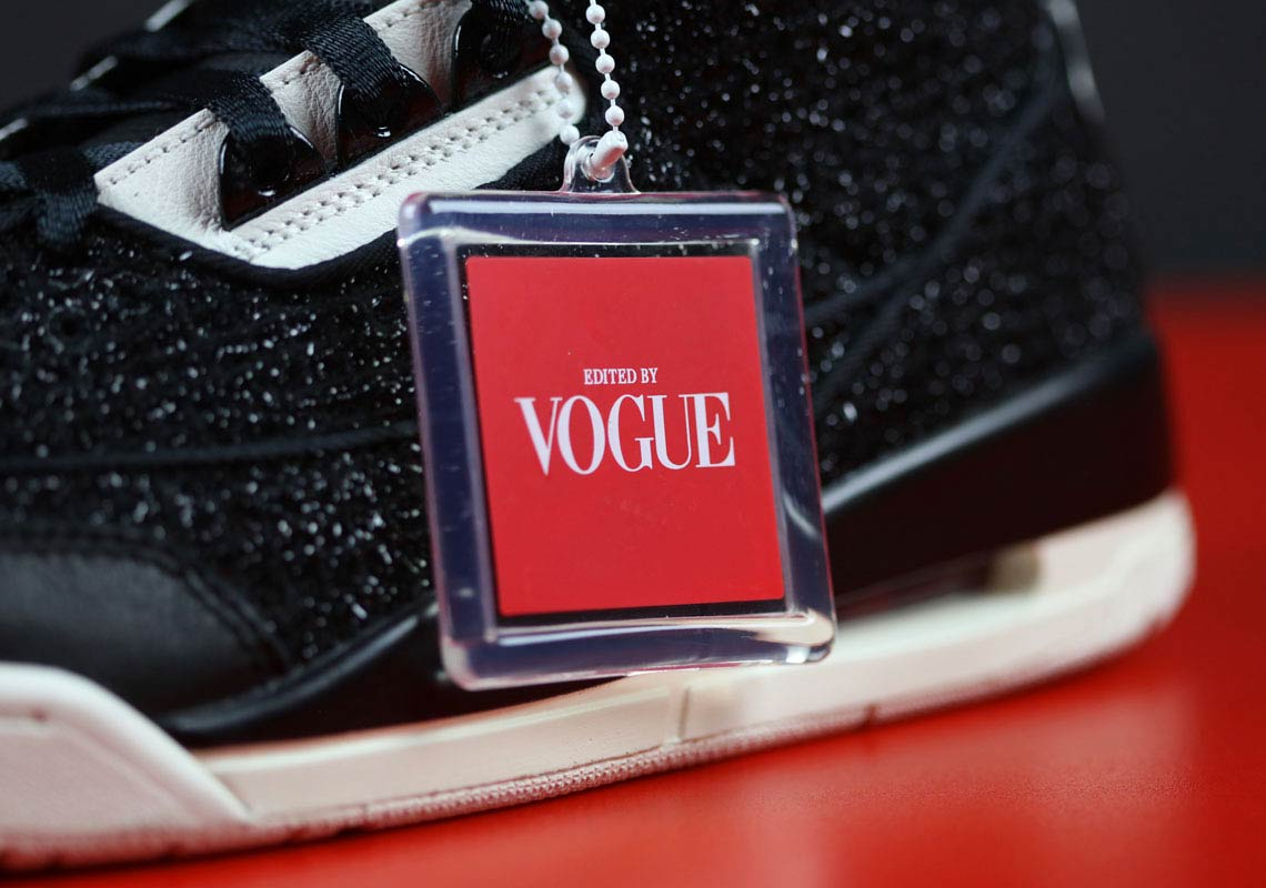 low priced c1bf1 baaca Vogue x Air Jordan 3 AWOK Black BQ3195-001 | SneakerNews.com