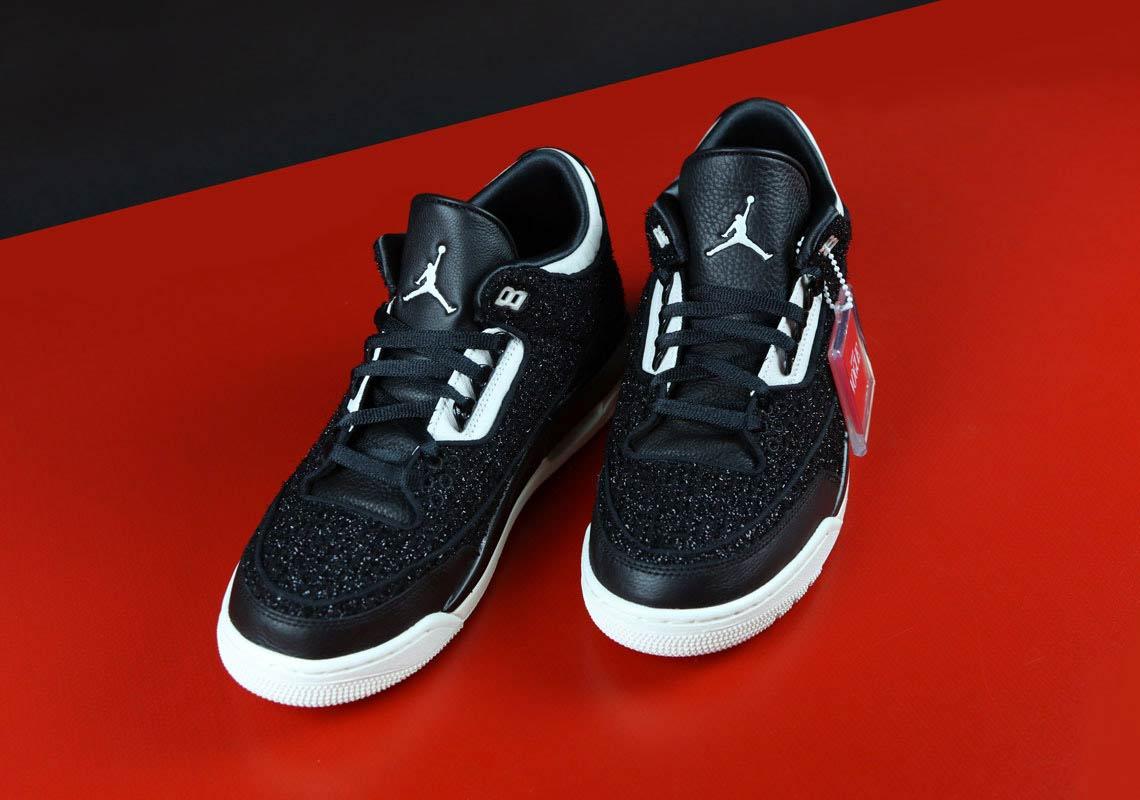 894b792f74a4e2 Vogue x Air Jordan 3 AWOK Black BQ3195-001