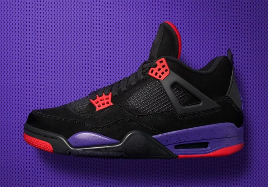 Official Images Of The Air Jordan 4 Raptors
