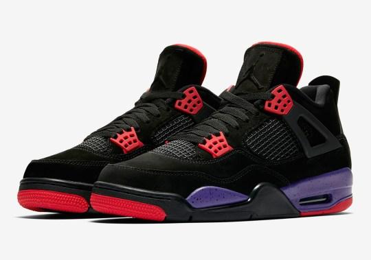 """Air Jordan 4 """"Raptors"""" - Release Reminder"""