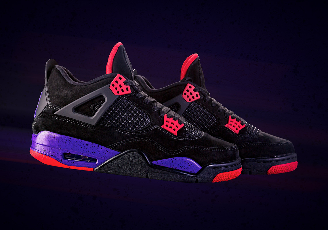 "best sneakers 0d34b a9ad4 Where To Buy The Air Jordan 4 ""Raptors"""