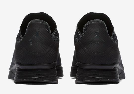 "The Jordan 88 Racer Appears In A ""Triple Black"" Colorway"