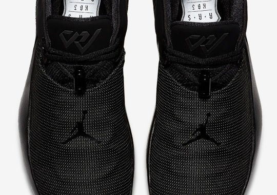 Russell Westbrook's Jordan Why Not Zer0.1 Low Is Coming In Triple Black